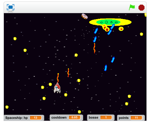 scratch spaceship game